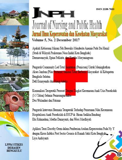 Aplikasi Teori Model Calista Roy Dalam Pemberian Asuhan Keperawatan Pada Ny S Dengan Kista Ovarium Di Sukamaju Kota Bengkulu Journal Of Nursing And Public Health